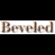 Beveled Heading
